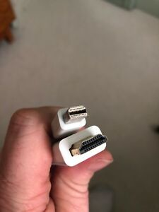 5' Apple HDMI cable