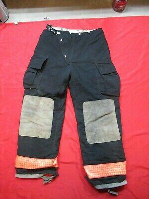 36 X 34 1990s Womens Globe Firefighter Fire Pants Bunker Turnout Gear Vtg