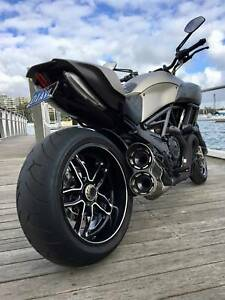 Ducati Diavel Limited Edition Titanium