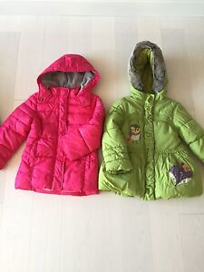 Winter coats for sale size 3-4 and size 4 Windsor Region Ontario image 1
