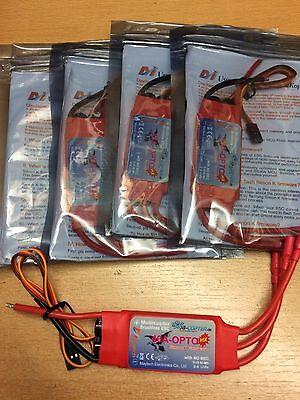 4 x Maytech 40A Opto HX 2-6S Brushless Regler SimonK ESC
