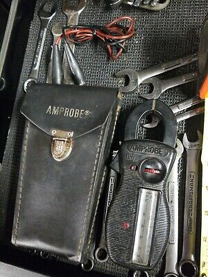 Vintage Ultra Professional Amprobe Clamp Meter And Volt Meter With Case
