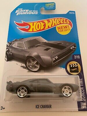 Hot Wheels 2017 HW Screen Time ICE CHARGER 2/10 266/365 The Fate of the Furious
