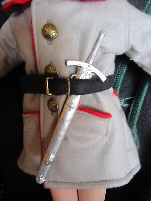 SONDERPREIS: zur Feldgrauen ein Degen/Schwert mit Scheide Metall17cmUVP17,90Euro