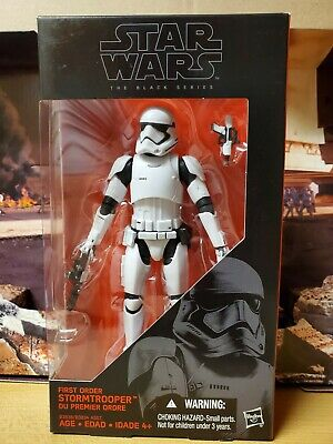 Star Wars First Order Stormtrooper The Force Awakens The Black Series 6inch