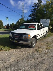 2002 GMC 2500 Duramax crew long box no winter