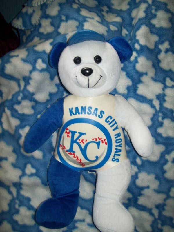 "16"" Kansas City Royals Large Plush Bear  Very nice"