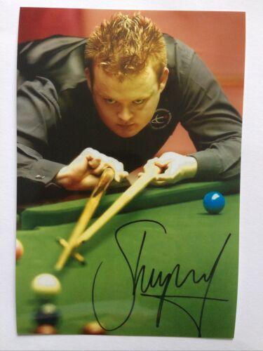 Shaun Murphy - Signed Printed Photo 6x4