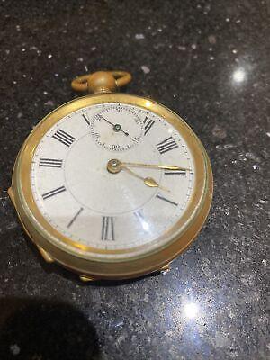 Vintage Pocket Watch Spares Or Repair