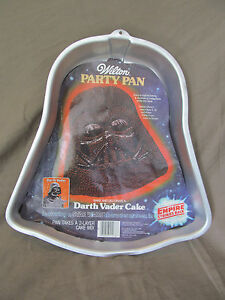 star wars cake pan vintage 1980 wars darth vader wilton cake pan 502 7674