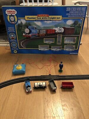 Bachmann HO Thomas The Tank Engine Fun with Freight Set 00683 Tested And Working