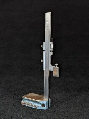 6 Mitutoyo Vernier Height Gage Guage Nice Condition Discontinued Made In Japan