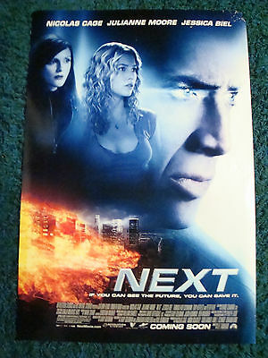 NEXT - MOVIE POSTER WITH NICOLAS CAGE, JULIANNE MOORE & JESSICA BIEL