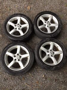 Mags nissan 17x7.5 +45 5x114.3