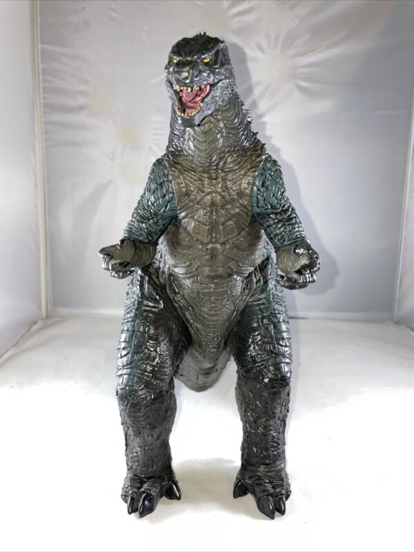"""2014 NECA GODZILLA Action Figure 24"""" Head To Tail FREE SHIP! Complete Tail!"""