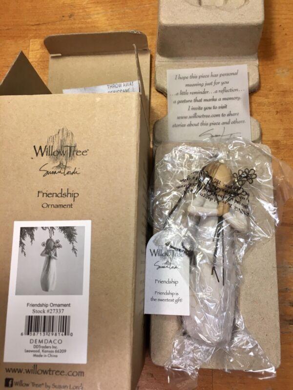 Willow Tree FRIENDSHIP Ornament #27337 DEMDACO Susan Lordi 2014 NIB