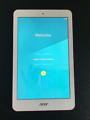 ACER ICONIA One 8 - 16Gb Android Tablet - Great Condition - PINK - Kids Tablet