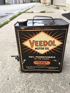 Veedol Oil Can In Near Mint Condition. Send Offer.
