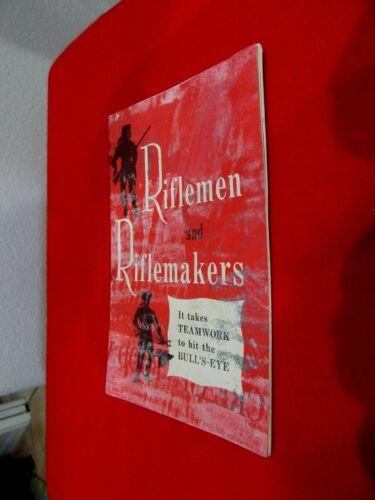 WW II Riflemen and Riflemakers General Motors Informational Rack Brochure 8.2.20