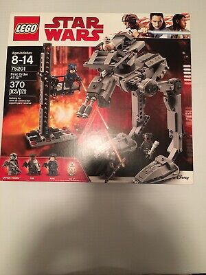 LEGO STAR WARS 75201 FIRST ORDER AT-ST 370 PCS BRAND NEW SEALED