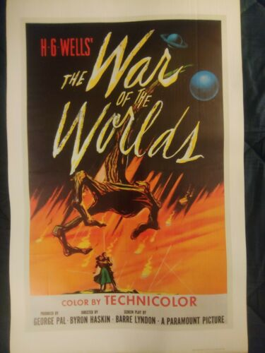 War of the Worlds 1983 Poster    22X34