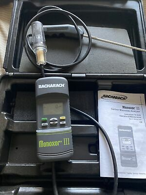 Bacharach Monoxor Iii Carbon Monoxide Analyzer
