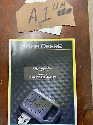 Oem John Deere Ts Th 6x4 Gator Utility Vehicle Operators Manual Omm154966 Nos