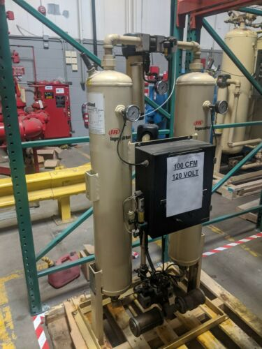 Used Ingersoll Rand 100 CFM Desiccant Air Dryer