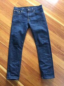 Nudie Grim Tim Dry Selvage 30/32 - 'As new' Richmond Yarra Area Preview