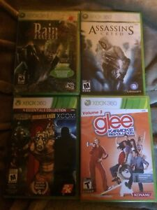 4 Xbox 360 games brand new in package never open
