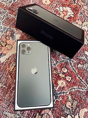 Apple iPhone 11 Pro Max - 64GB - MidnightGreen (Factory Unlocked) MINT!