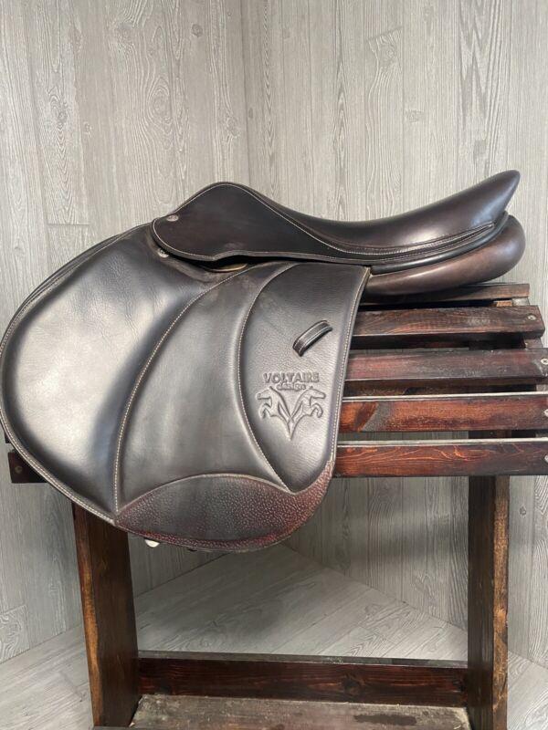 "17"" voltaire palm beach saddle"