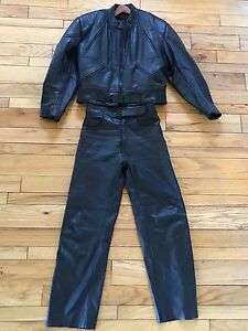 Bristol Leather Jacket and Pants like new!