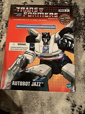 Commemorative Series III TRANSFORMERS Autobot Jazz Brand New