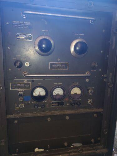 SIGNAL CORP AM 494 MILITARY RADIO TUBE TRANSMITTER