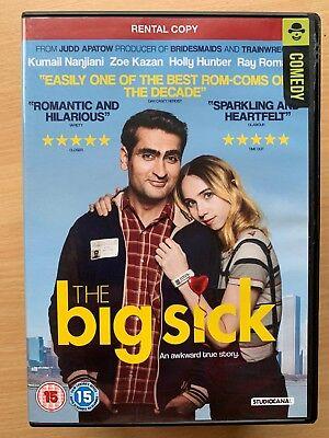 Kumail Nanjiani Zoe Kazan The Big Suck 2017 Romantic Comedy Drama UK DVD - Halloween 2017 Blu Ray Uk