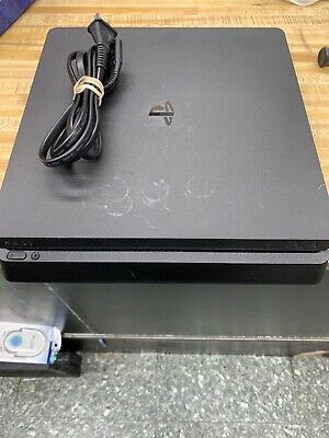 Sony Playstation 4 PS4 Slim 500GB CUH-2015A Black - Console & Power Cord ONLY
