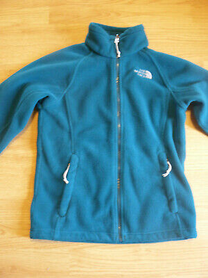 The North Face Fleece Jacket Woman's XS Green/Teal