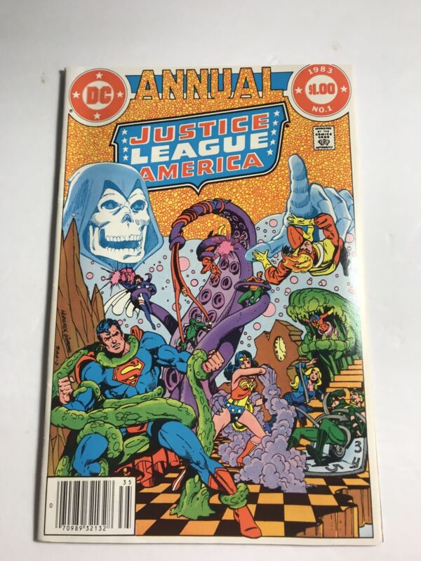 Justice League Of America Dc Comics 1983 Annual #1