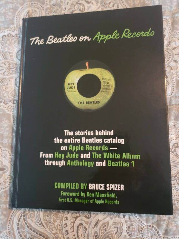 Beatles On Applel Records Bruce Spizer 1ST EDITION SIGNED RARE