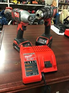 Milwaukee 18v Drill and Impact Drill