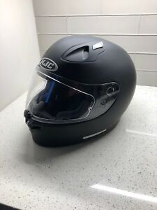 Motorcycle helmet, black mat slightly used ( only 2 days) size L