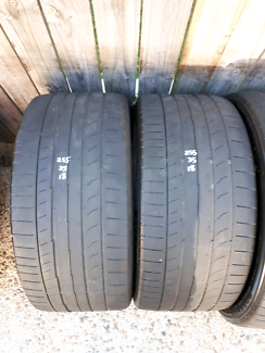 255/35X19- CONTINENTAL TYRES