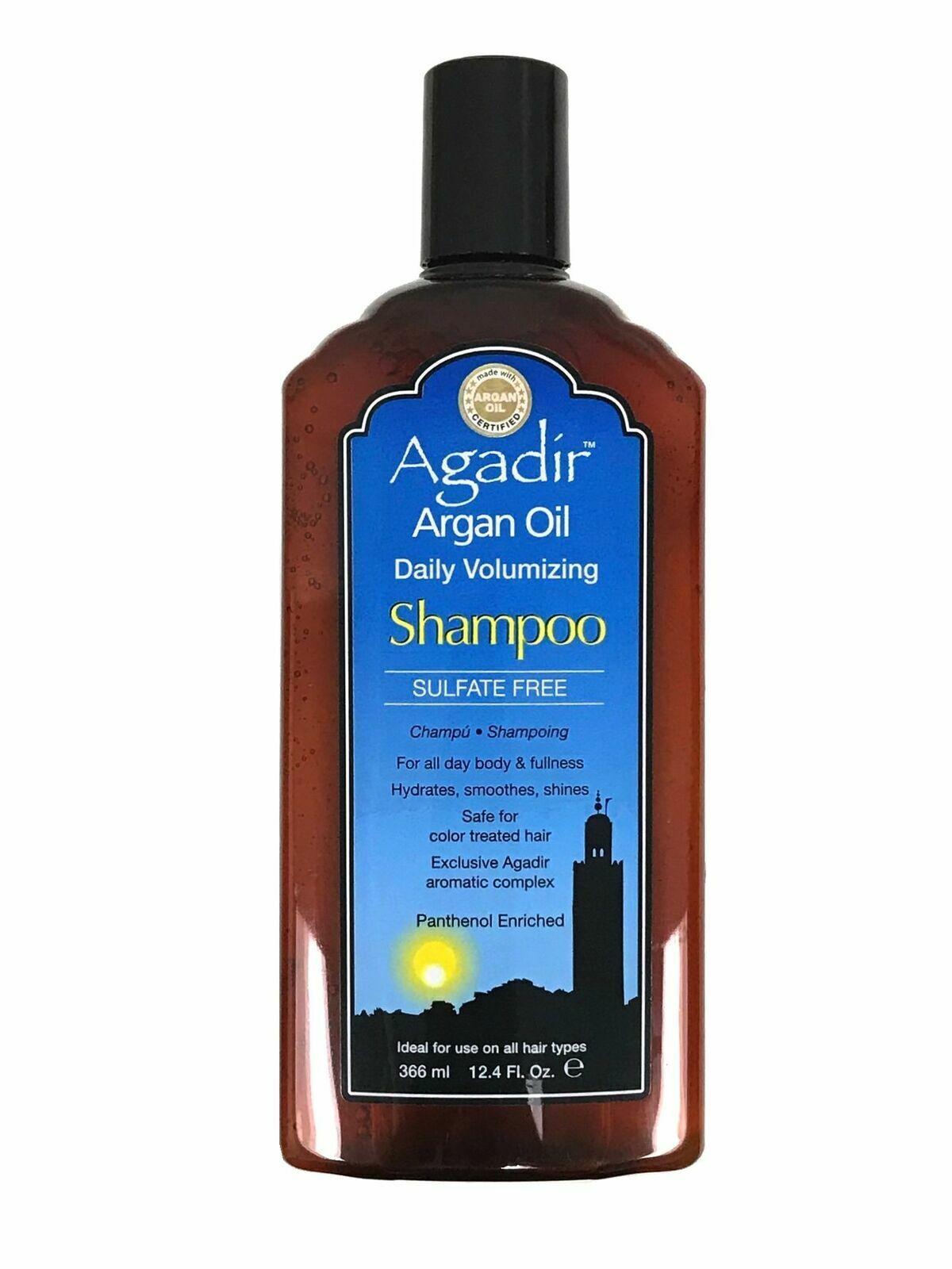 Agadir Argan Oil Daily Volumizing Shampoo for Unisex - 12.4