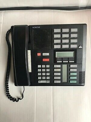 Norstar Nortel Black Telephone Phone M7310 Nt8b20af-03