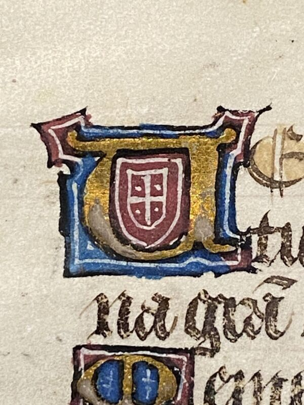 15th C. Medieval Manuscript 1450-ish Book of Hours or Breviary on Vellum
