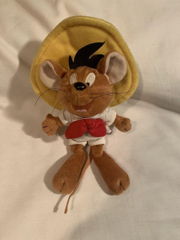 "Vintage Speedy Gonzales Warner Brothers 1998 plush stuffed animal  10"""