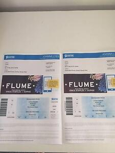 Flume Concert x 2 seated tickets Saturday 10th of December. Mona Vale Pittwater Area Preview
