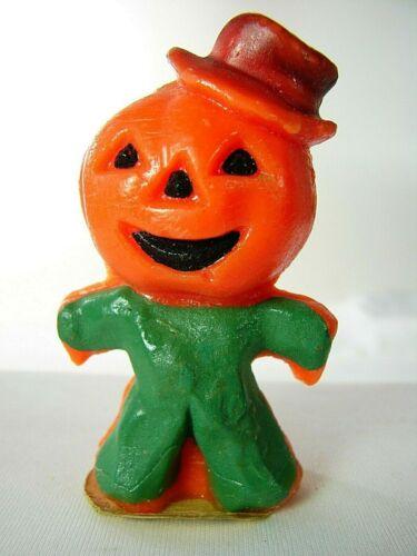 Vintage Gurley Halloween Jack-O-Lantern Scarecrow #1 - Great Looking