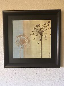 """Set of two 22"""" x 22"""" pictures"""